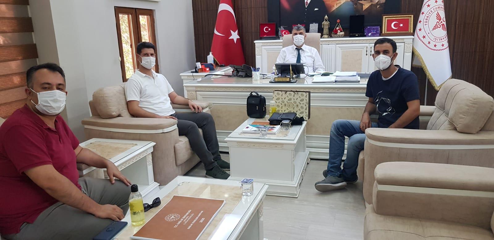 İl Sağlık Müdürümüz Prof. Dr. Mehmet GÜLÜM'e Hayırlı Olsun Ziyaretinde Bulunduk